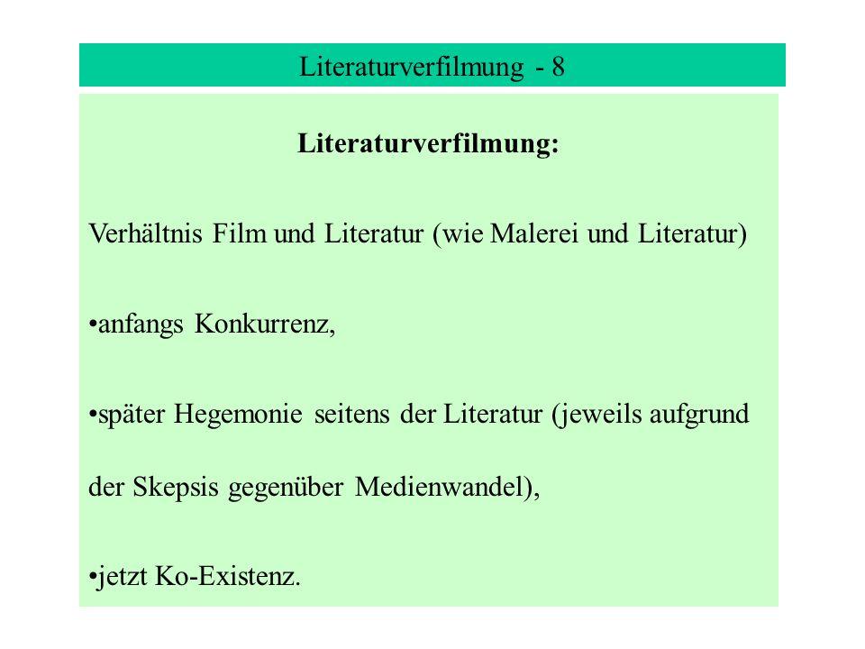 Literaturverfilmung: