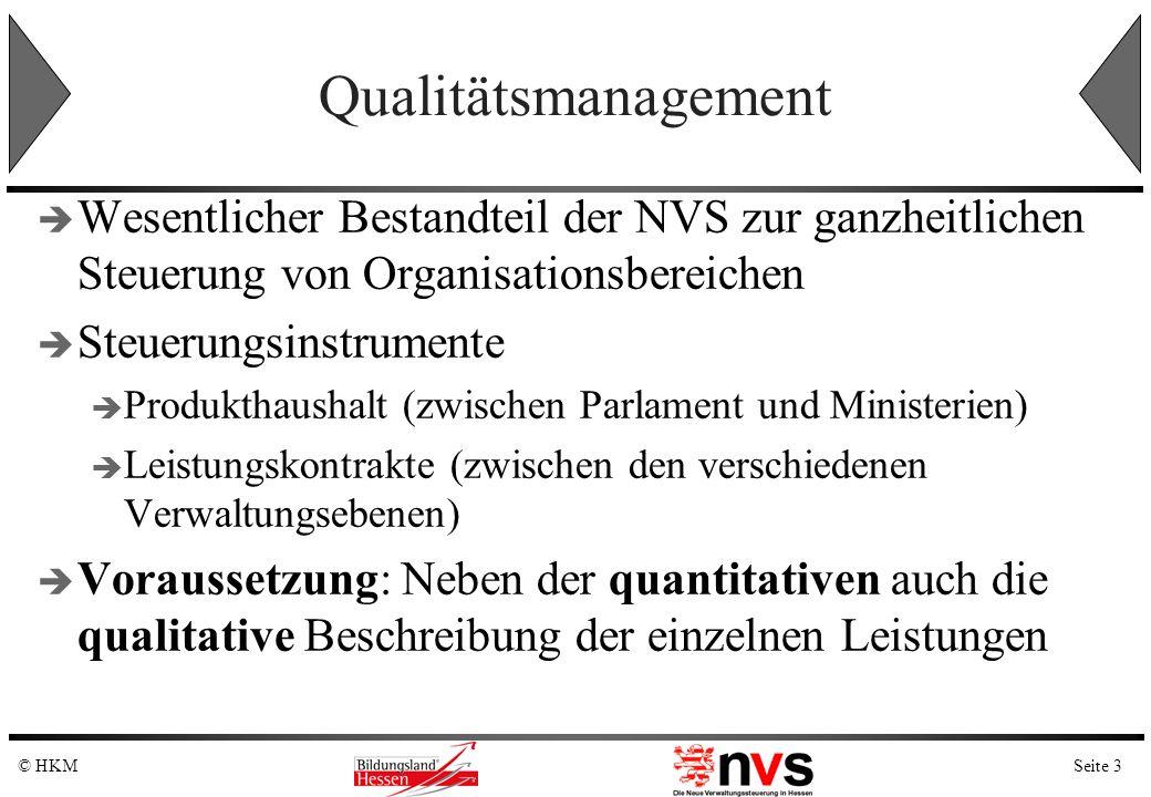 QualitätsmanagementWesentlicher Bestandteil der NVS zur ganzheitlichen Steuerung von Organisationsbereichen.