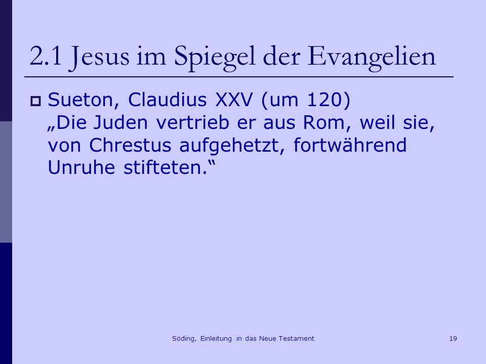 Einleitung in das neue testament ppt herunterladen for Spiegel jesus