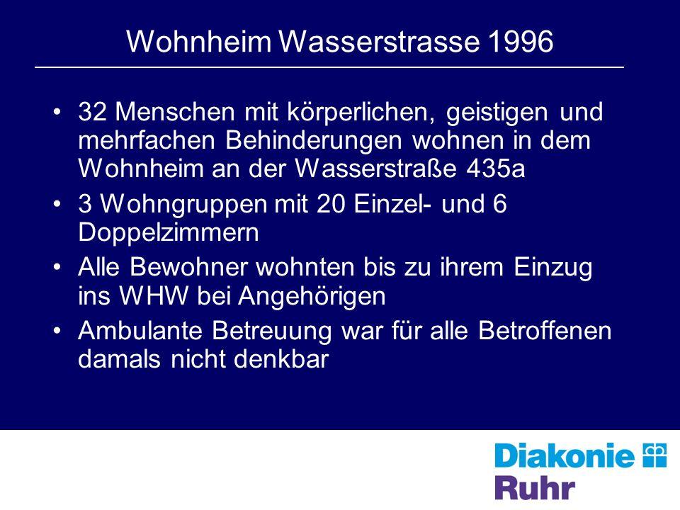 Wohnheim Wasserstrasse 1996