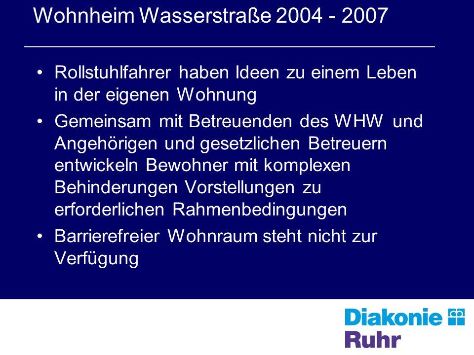 Wohnheim Wasserstraße 2004 - 2007