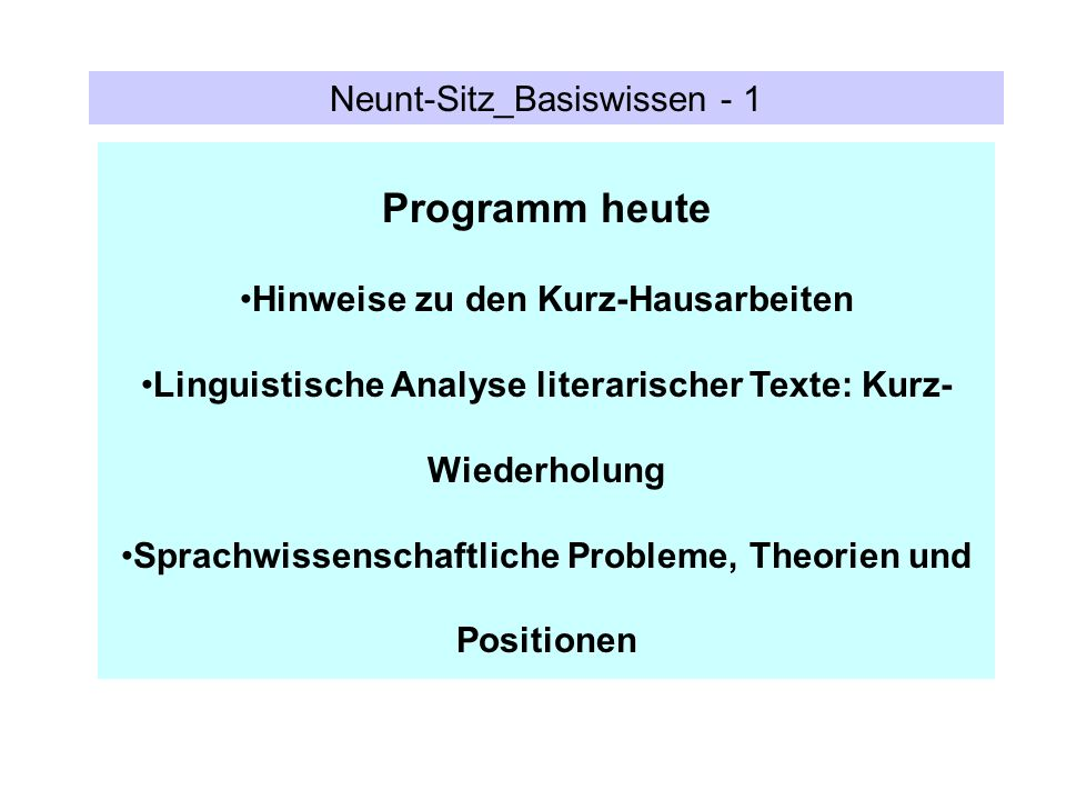Programm heute Neunt-Sitz_Basiswissen - 1