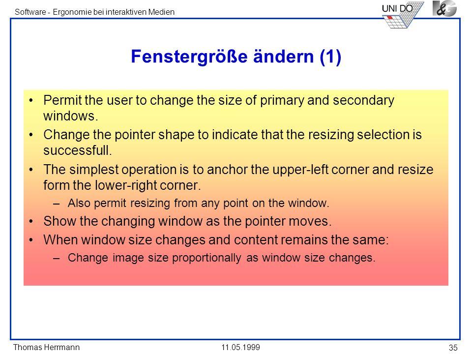 Fenstergröße ändern (1)