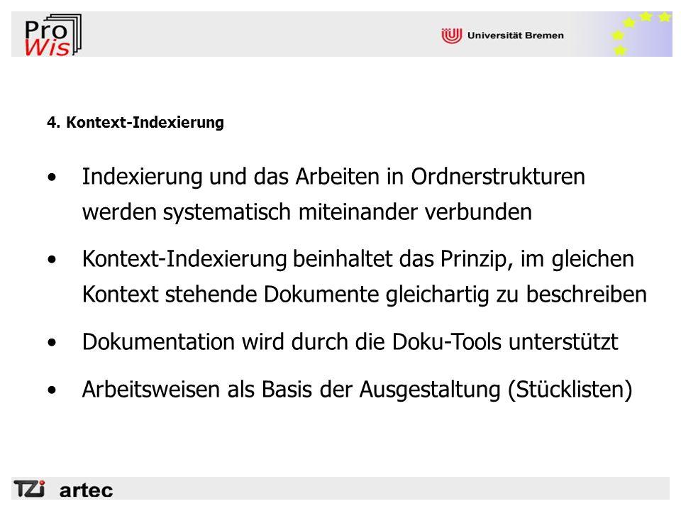 Dokumentation wird durch die Doku-Tools unterstützt