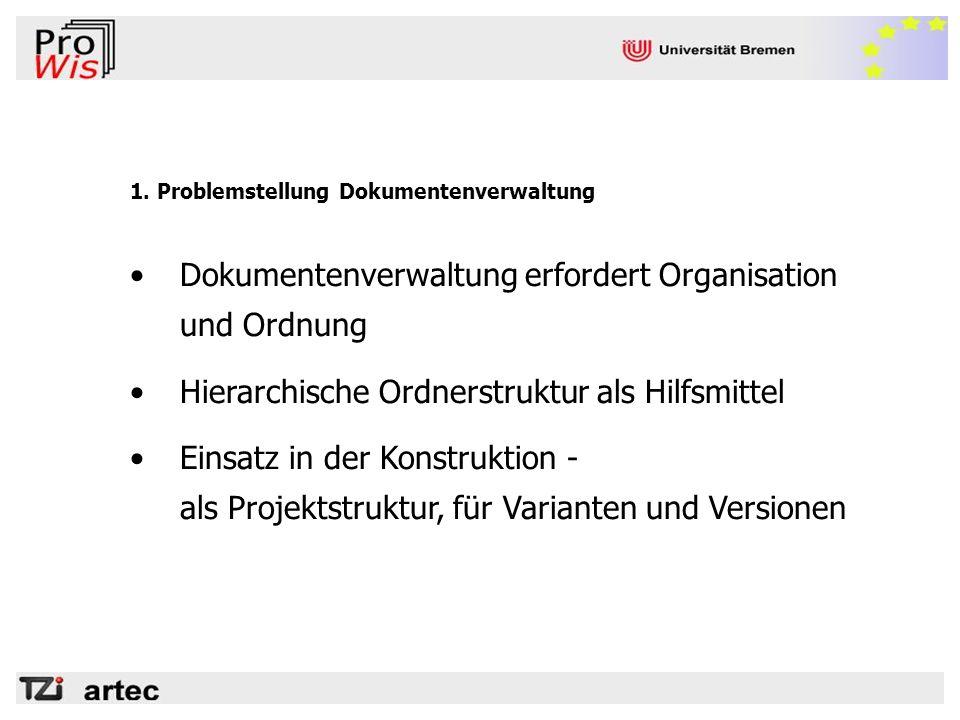Dokumentenverwaltung erfordert Organisation und Ordnung