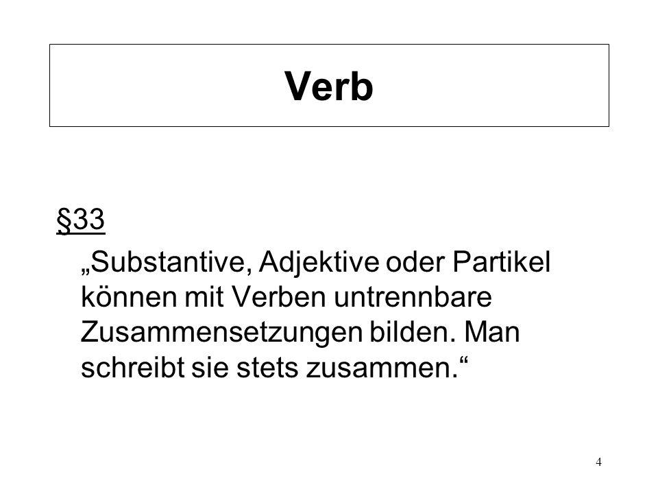 Verb §33.