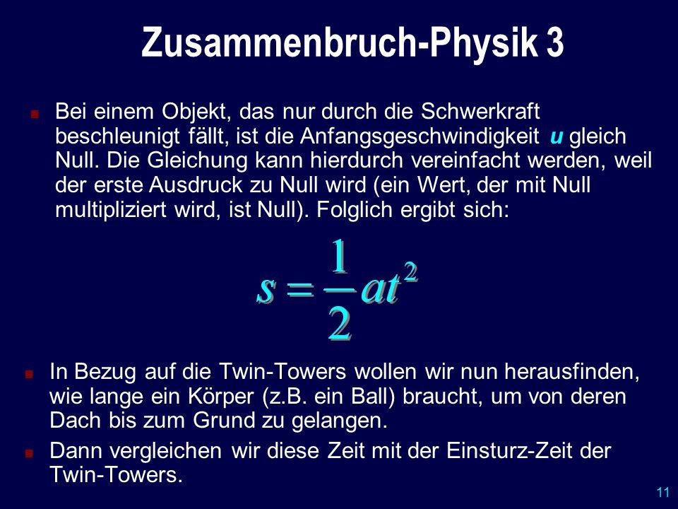 Zusammenbruch-Physik 3