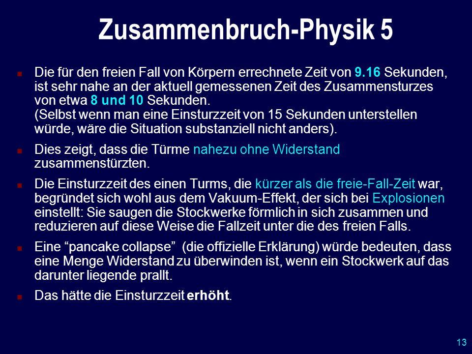 Zusammenbruch-Physik 5