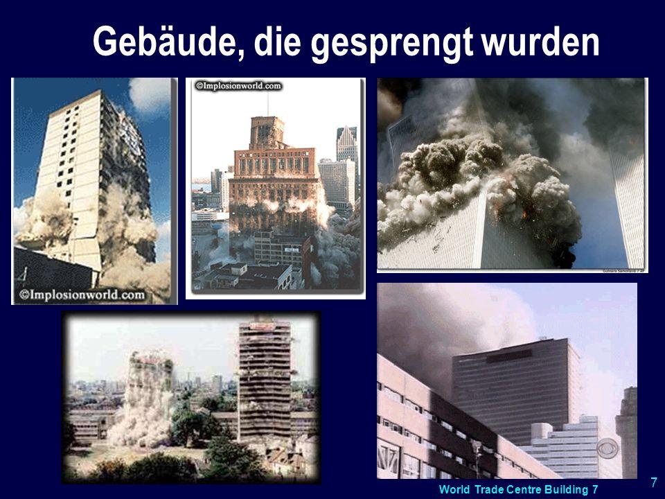 Gebäude, die gesprengt wurden