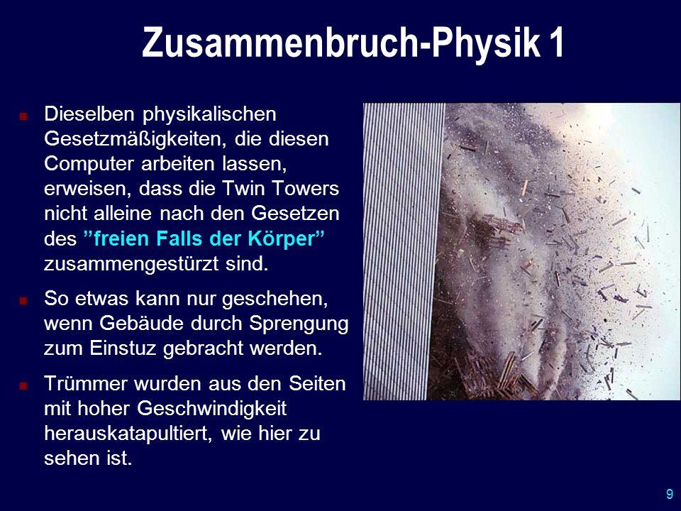 Zusammenbruch-Physik 1