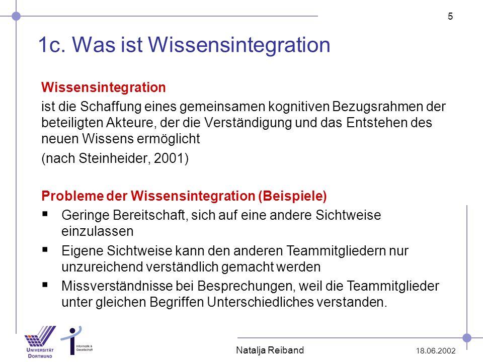1c. Was ist Wissensintegration
