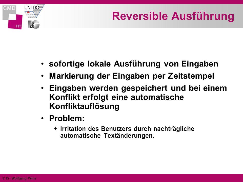 Reversible Ausführung