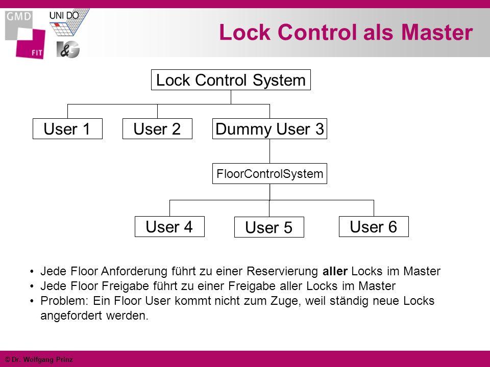Lock Control als Master
