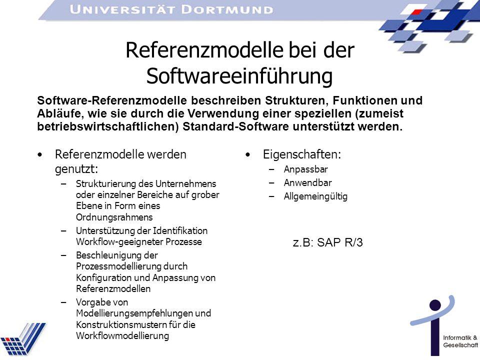 Referenzmodelle bei der Softwareeinführung