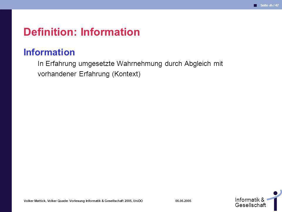 Definition: Information