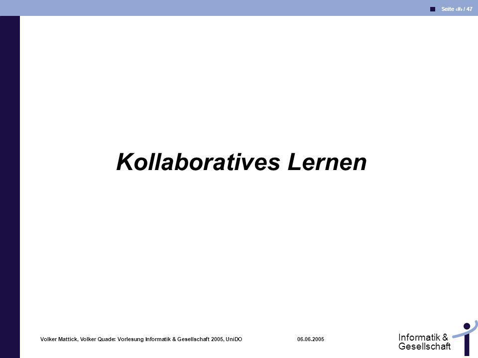 Kollaboratives Lernen