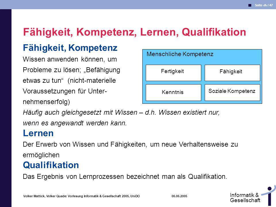 Fähigkeit, Kompetenz, Lernen, Qualifikation
