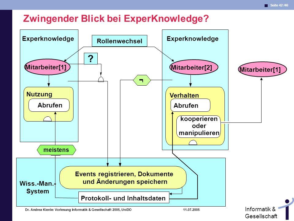 Zwingender Blick bei ExperKnowledge