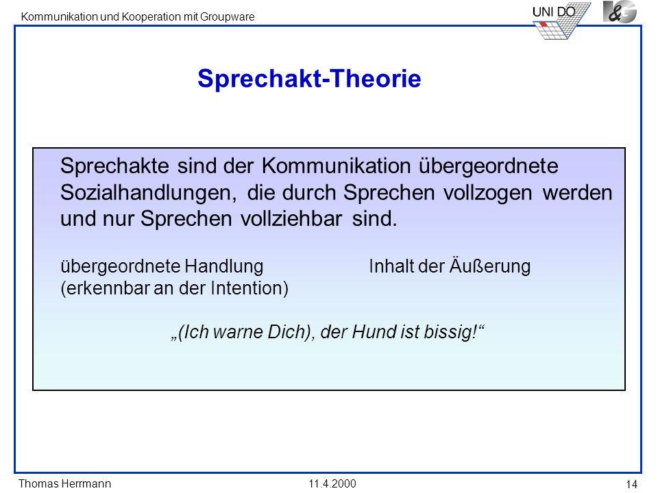 Sprechakt-Theorie