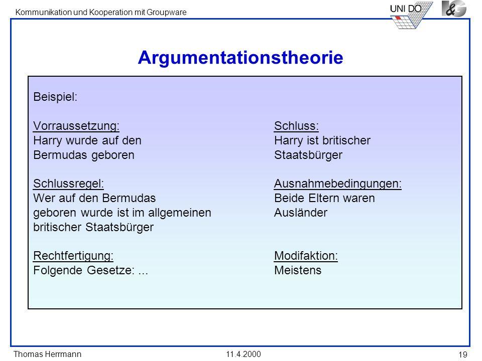 Argumentationstheorie