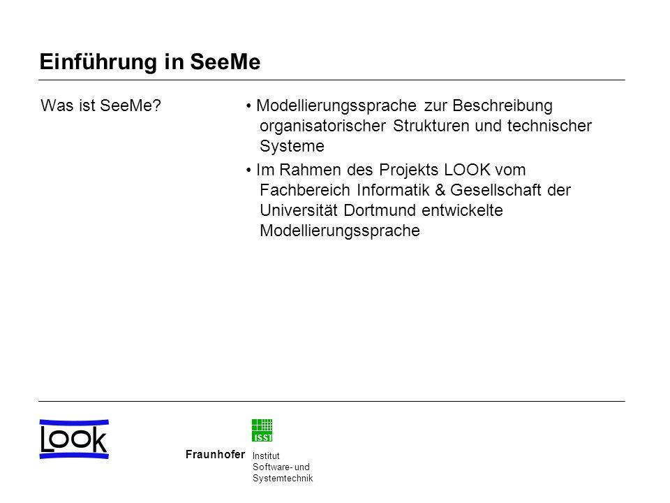 Einführung in SeeMe Was ist SeeMe