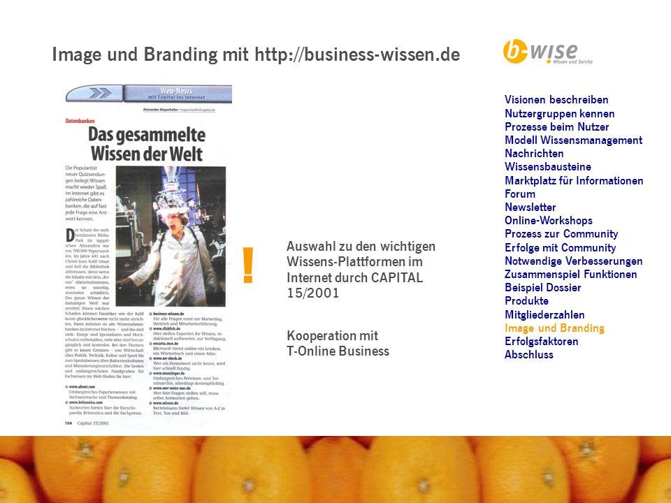 ! Image und Branding mit http://business-wissen.de