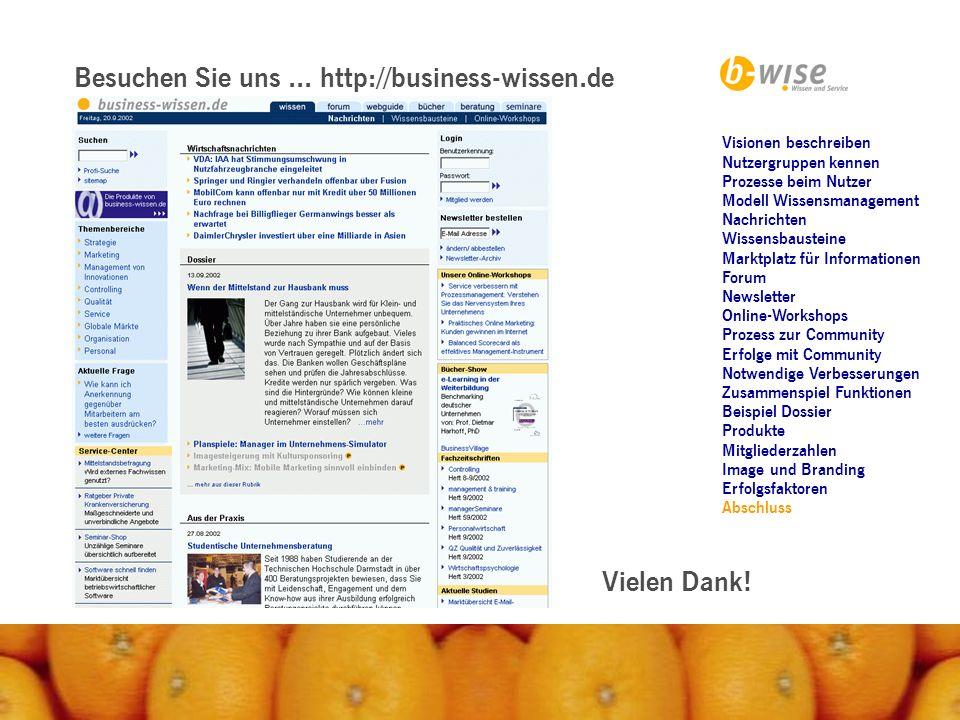 Besuchen Sie uns ... http://business-wissen.de