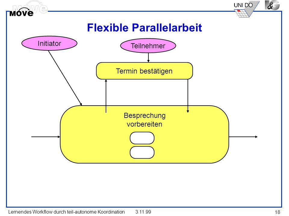 Flexible Parallelarbeit