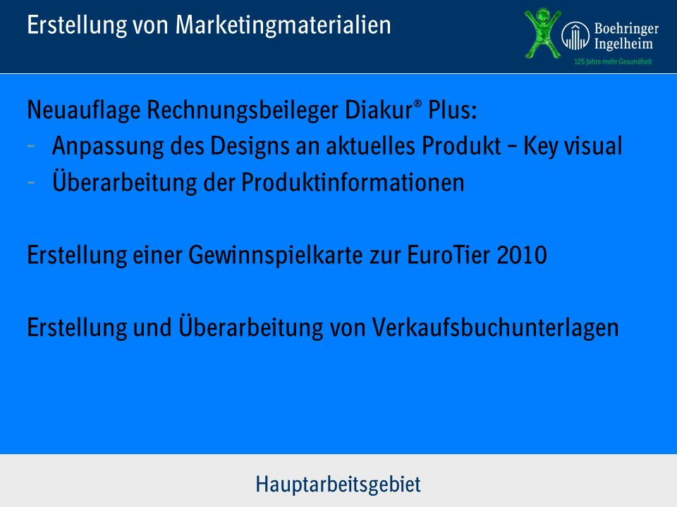 Erstellung von Marketingmaterialien