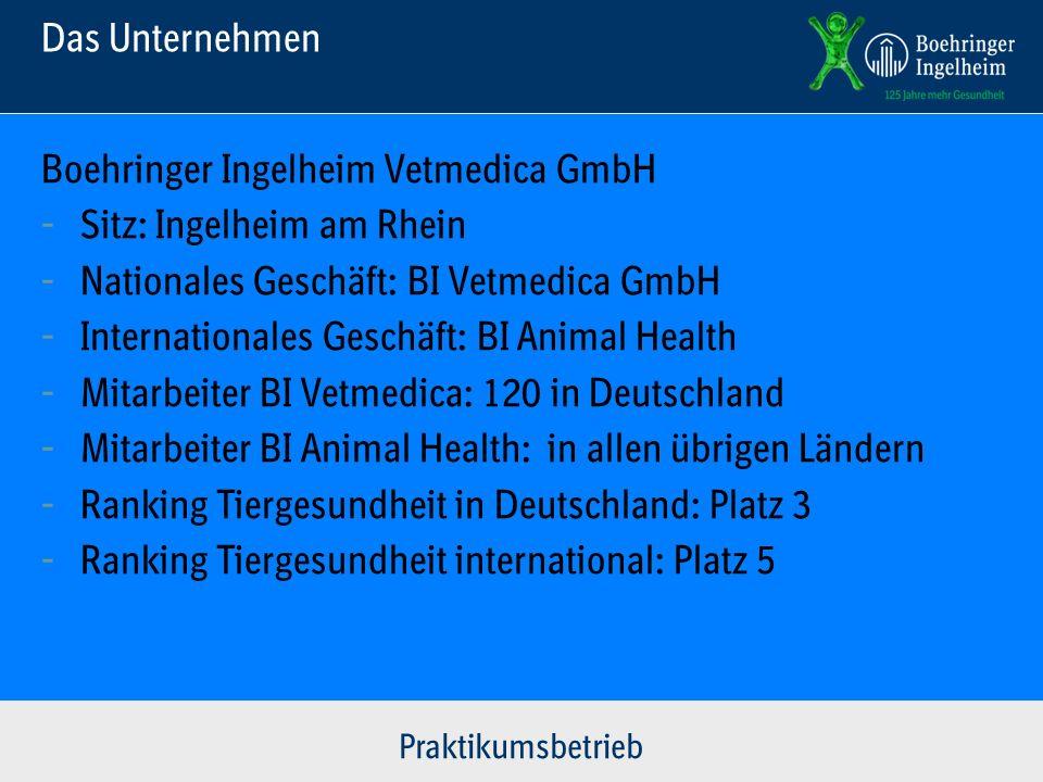 Boehringer Ingelheim Vetmedica GmbH - Sitz: Ingelheim am Rhein