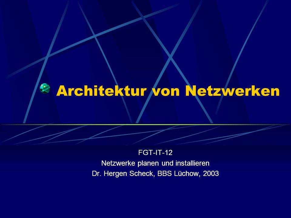 Architektur von Netzwerken
