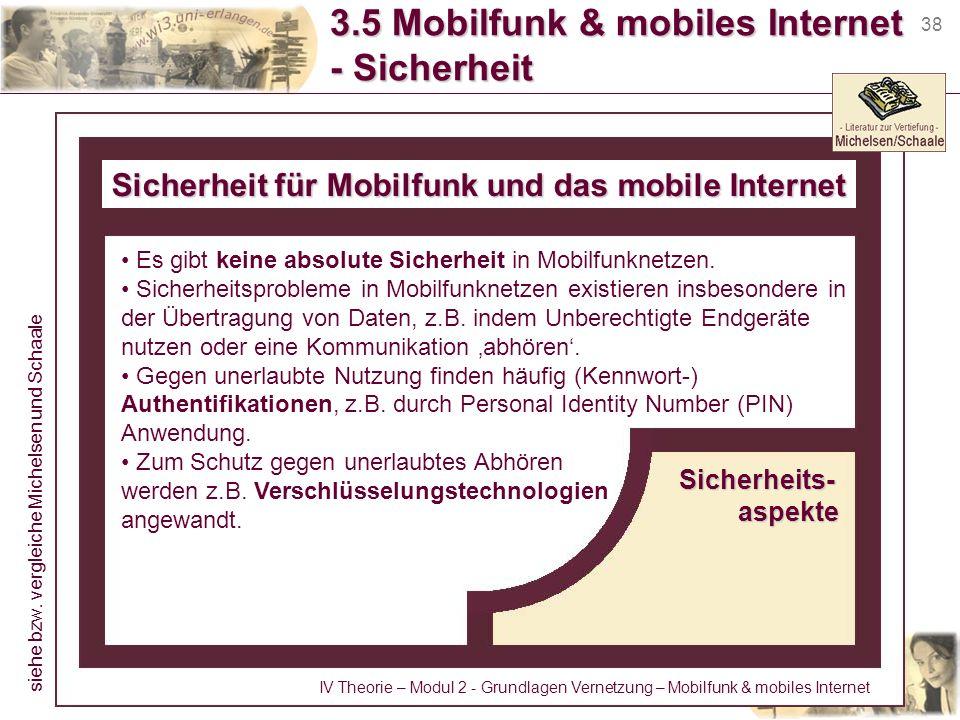 3.5 Mobilfunk & mobiles Internet - Sicherheit