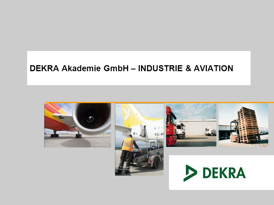 DEKRA Akademie GmbH – INDUSTRIE & AVIATION