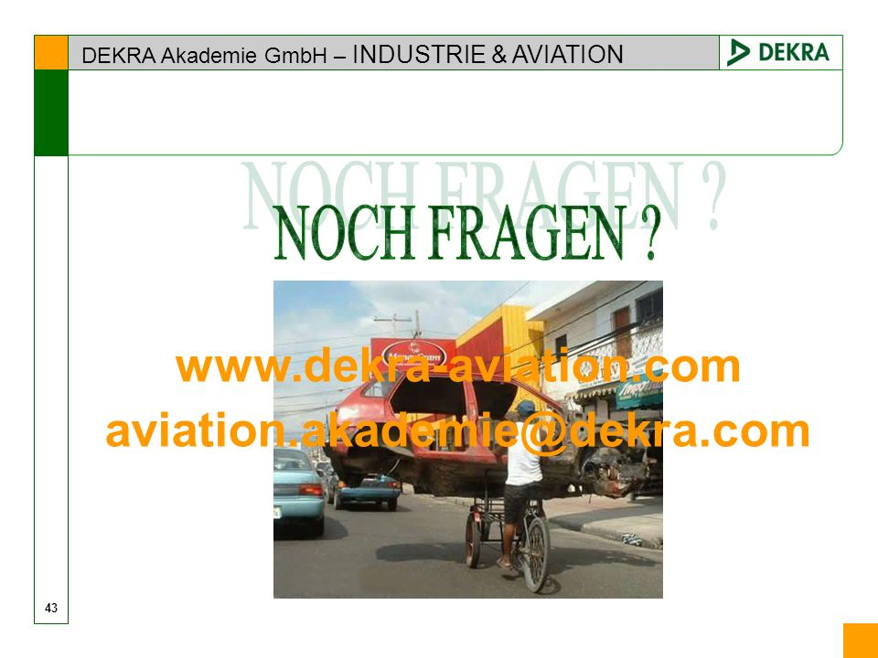 www.dekra-aviation.com aviation.akademie@dekra.com