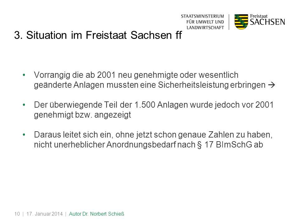 3. Situation im Freistaat Sachsen ff