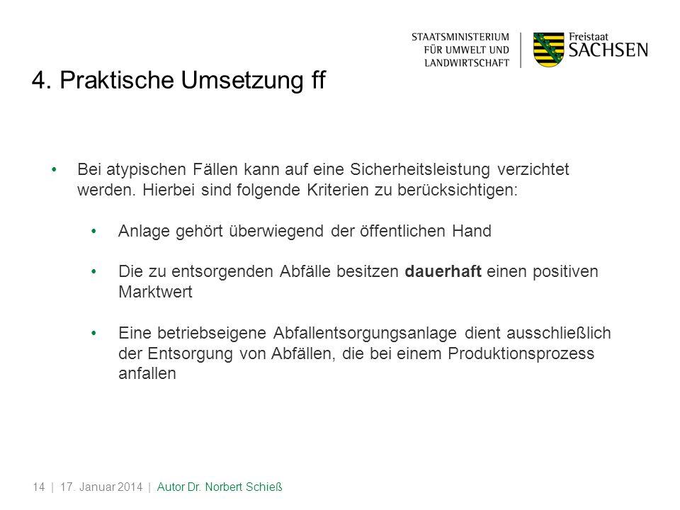 4. Praktische Umsetzung ff
