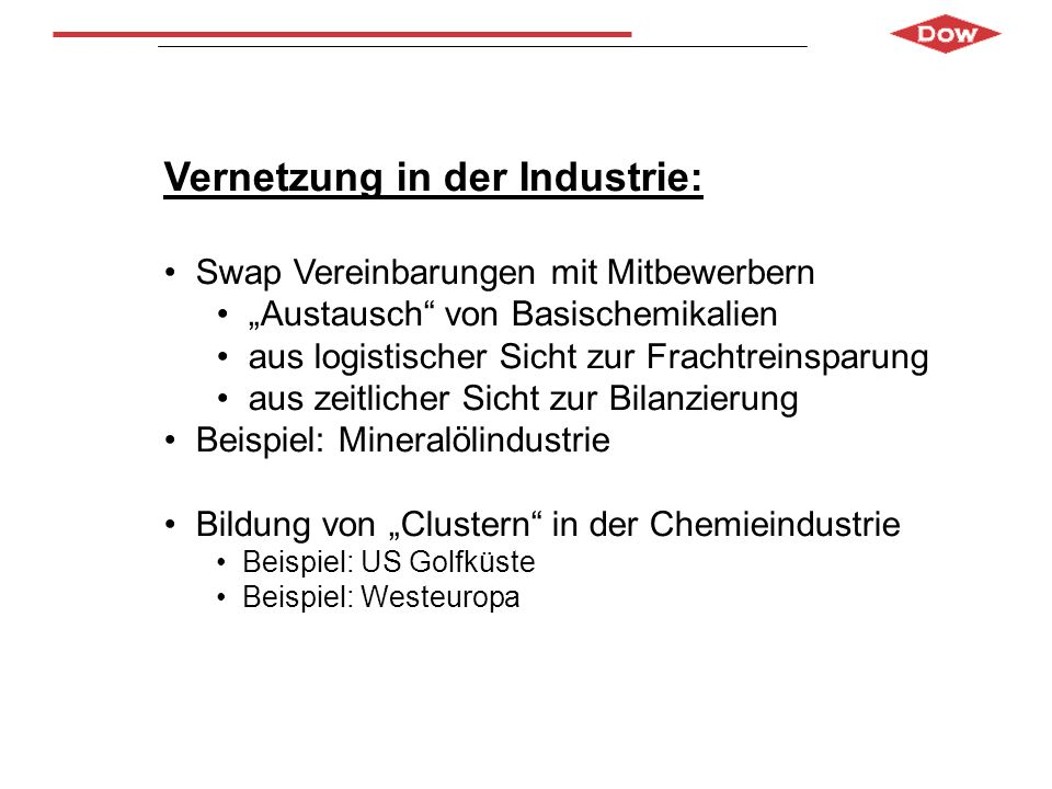 Vernetzung in der Industrie: