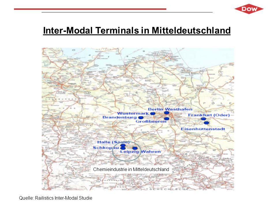 Inter-Modal Terminals in Mitteldeutschland