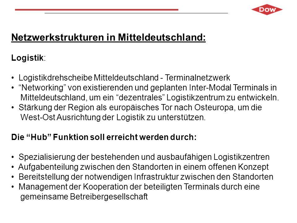 Netzwerkstrukturen in Mitteldeutschland: