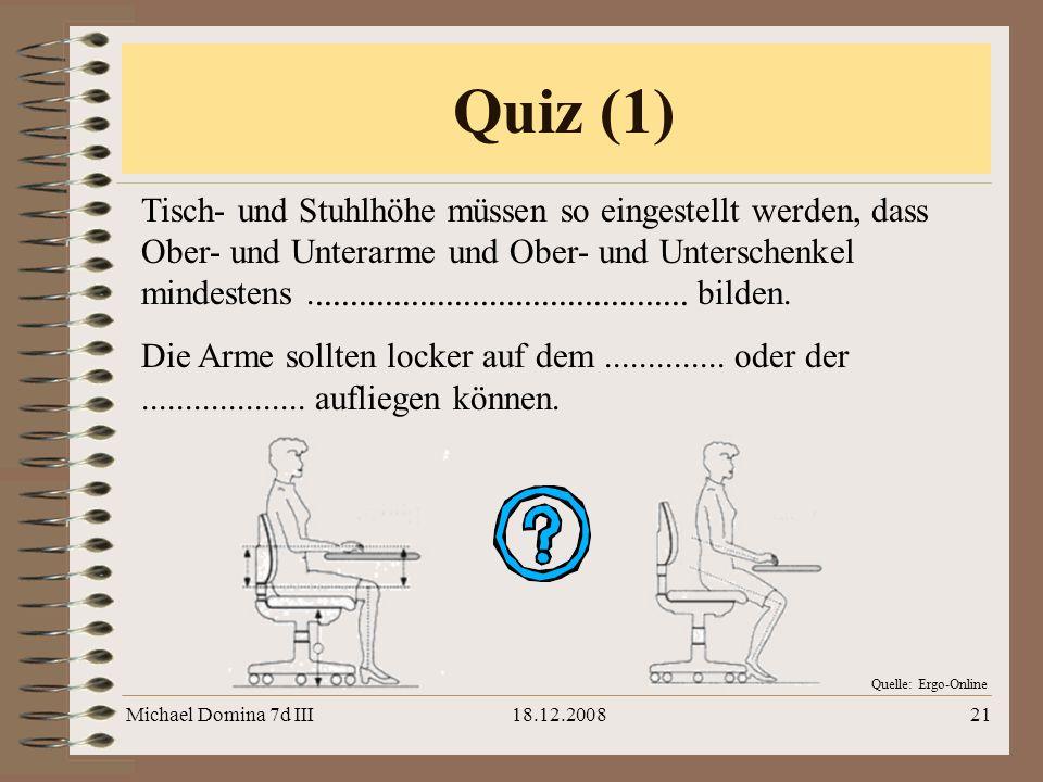Quiz (1)