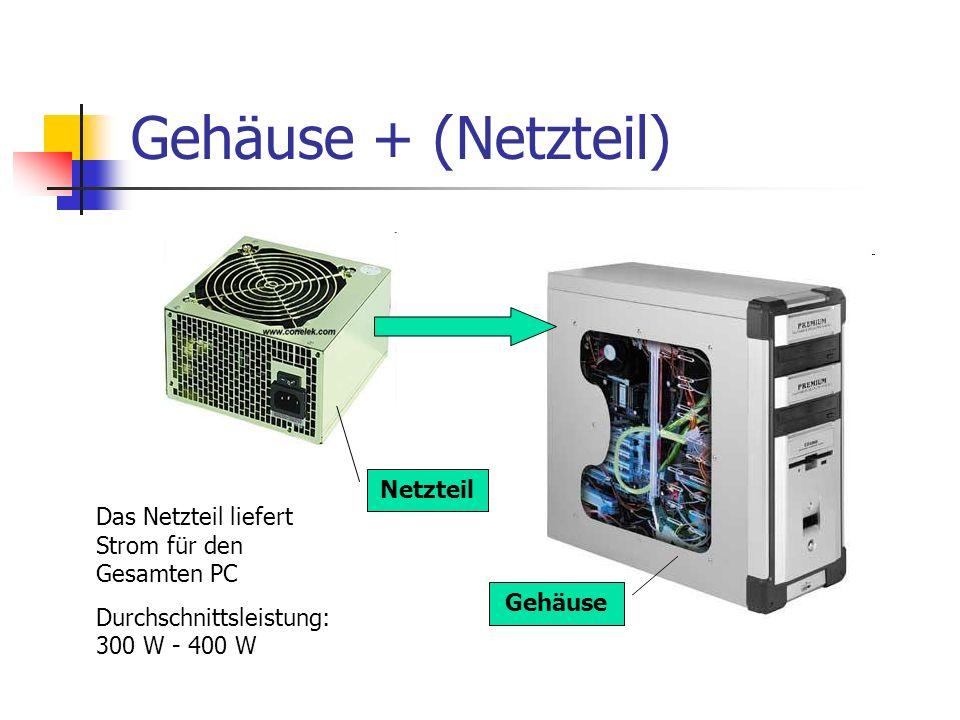 Gehäuse + (Netzteil) Netzteil