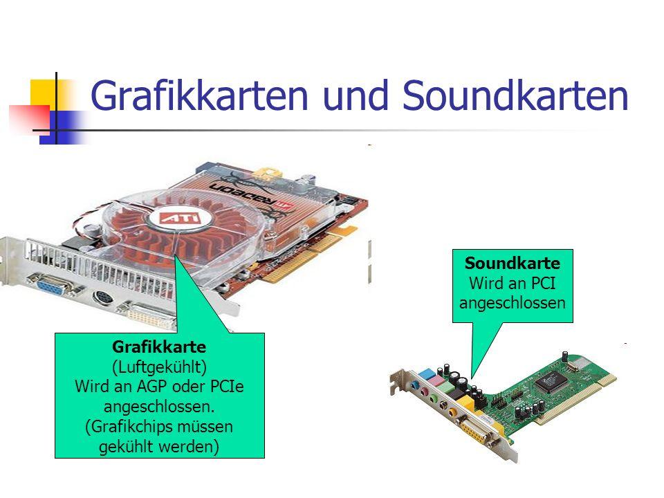 Grafikkarten und Soundkarten