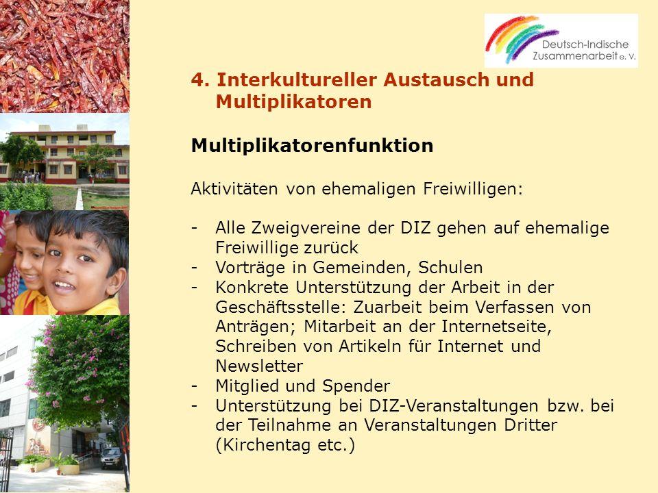 4. Interkultureller Austausch und Multiplikatoren