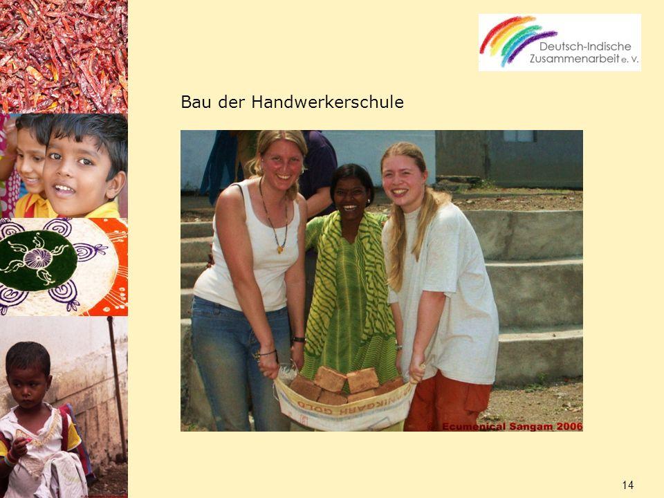 Bau der Handwerkerschule