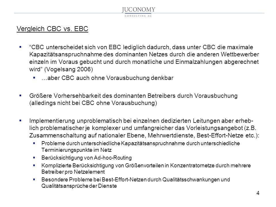 Vergleich CBC vs. EBC