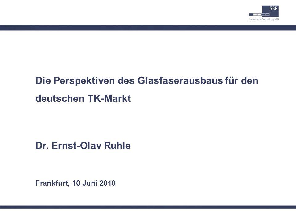 Die Perspektiven des Glasfaserausbaus für den deutschen TK-Markt