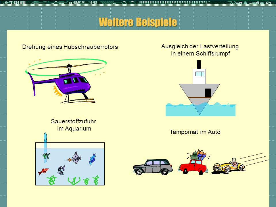 Weitere Beispiele Drehung eines Hubschrauberrotors