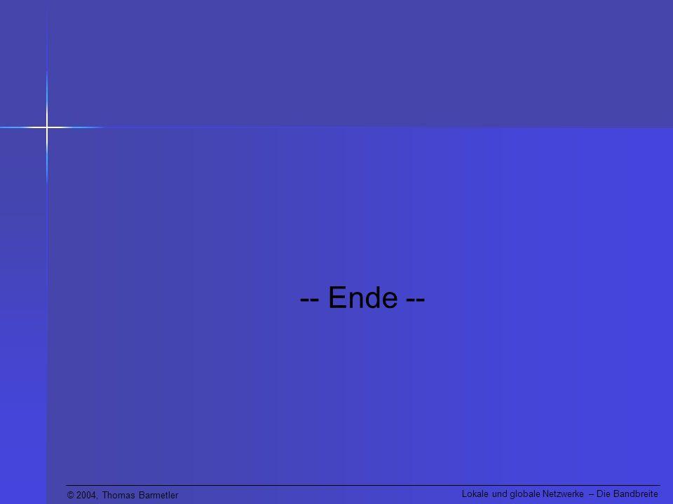 -- Ende --