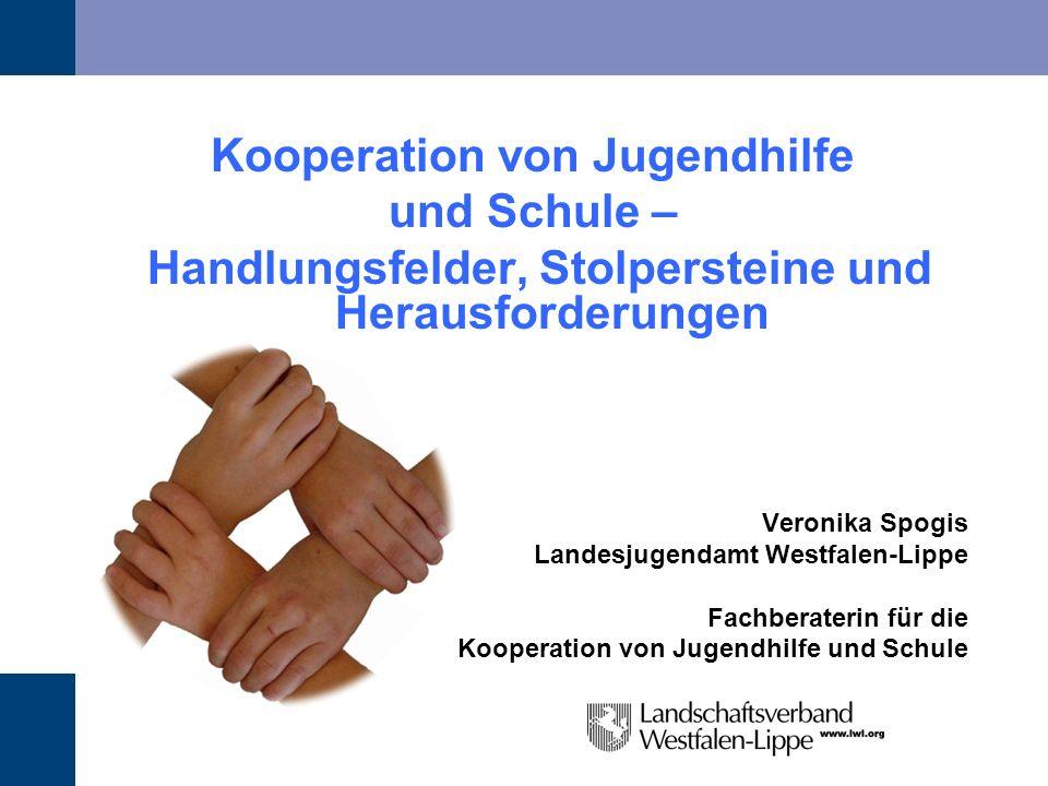 Kooperation von Jugendhilfe und Schule –