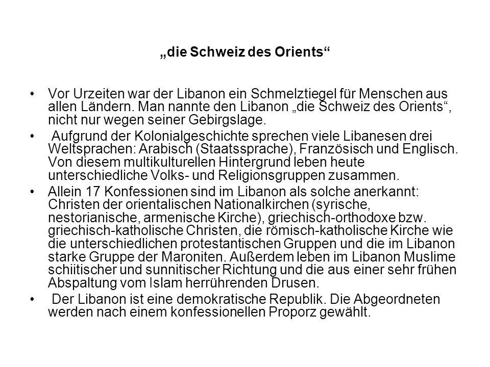 """""""die Schweiz des Orients"""